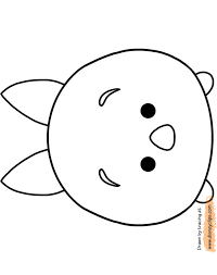 Disney Tsum Tsum Coloring Pages Awesome Printable Coloring Books For