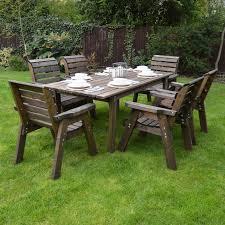 barrowden outdoor wooden garden dining