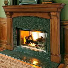 com the blue ridge fireplace mantel surround finish oak distressed shelf length 77 5 home kitchen