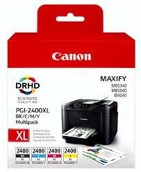 Набор <b>картриджей Canon PGI</b>-<b>2400 BK</b>/C/M/Y <b>XL</b> Multipack ...