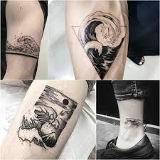 татуировки любителей моря стихия бесконечности в тату