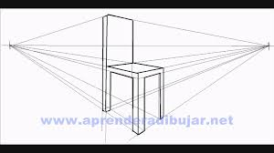 Simple 2 Point Perspective Drawing How To Draw A Chair In