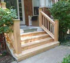 how to build wooden porch steps wood outdoor steps improvements and repairs front porch steps and
