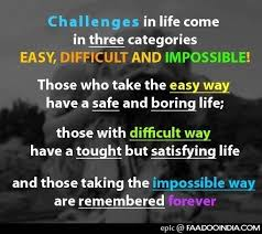Quotes about Challenges in life 40 quotes Inspiration Quote About Life Challenges