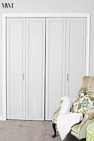facelift on bi fold closet doors