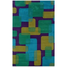 lr resources vibrance purple 8 ft x 10 ft contemporary indoor area rug