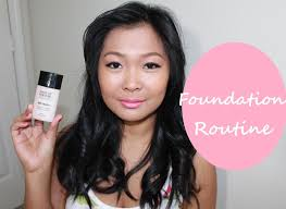 cur foundation routine feat makeup forever matte velvet foundation you