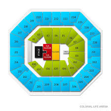 Colonial Life Arena 2019 Seating Chart