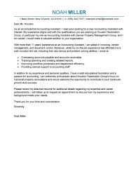 Accounts Assistant Cover Letters Best Accounting Assistant Cover Letter Examples Livecareer