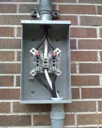 passed the electrical inspection! zephyr1998's blog how to run wire from meter to breaker box at Meter Box Wiring