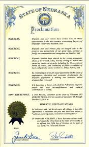 news noticias 2016 hispanic heritage month state proclamation