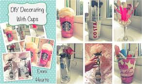 emmihearts decorating cups diy room decorations