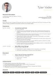 Business Management Graduate Cv Example Resume Samples Career