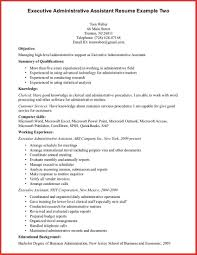 Luxury Administrative Assistant Professional Summary Personal Leave