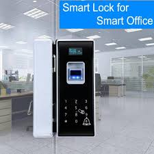 office entrance glass door lock five ways to unlock long battery life span images