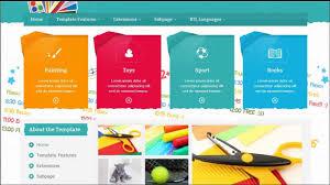 Kids School Website Template Jm School Tools Joomla 3 X Template