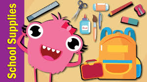 fun kids pictures. Delighful Pictures School Supplies Song  Fun Kids English And Pictures I