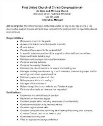 office manager sample job description office manager job description for resume office manager job