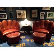baseball glove chair and ottoman improvements home goods