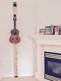 hang guitar on wall without drilling