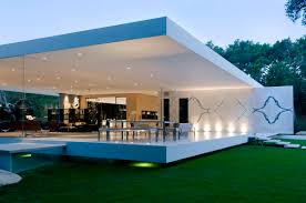 Ultra modern house Single Storey Materialicious The Glass Pavilion An Ultramodern House By Steve Hermann