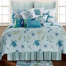 tidal wave turtle quilt twin