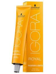 Schwarzkopf Igora Royal Fashion Lights Hair Color Prolush Com