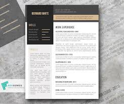 Simplexing Free Modern Resume Template Freesumes