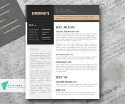 Modern Resume Templete Simplexing Free Modern Resume Template Freesumes