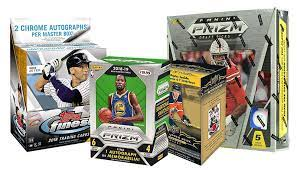 Hello, here are some packs of basketball, football, and baseball. Hobby Or Retail Which One To Choose When It Comes To Sports Cards
