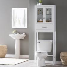Belham Living Longbourn Over-the-Toilet Space Saver with Removable Legs |  Hayneedle