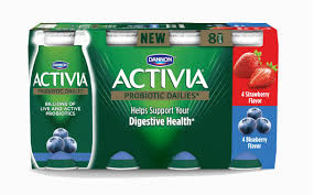 dannon expands activia range with probiotic yogurt drinks