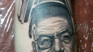Realistic Fresh Tattoo Portrait Haisenberg свежая тату реализм алексей михайлов екатеринбург