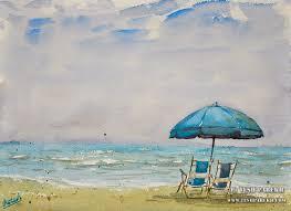 tesh parekh art myrtle beach sc plein air watercolor paintings