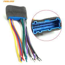 feeldo 5pcs car radio audio stereo wiring harness adapter plug for feeldo 5pcs car radio audio stereo wiring harness adapter plug for buick cadillac pontiac