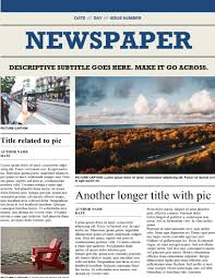 Newspaper Layout On Word 002 Newspaper Layout Template Microsoft Word Image