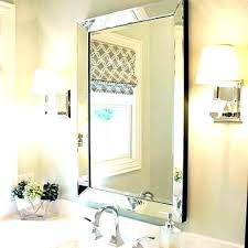 beveled bathroom vanity mirrors. Bathroom Vanity Mirrors Beveled Mirror Powder Room Bevelled Marble Sconces Houzz I