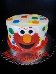 Elmo Smash Cake Wwwggcupcakecom Eli Madoux First Bday Smash
