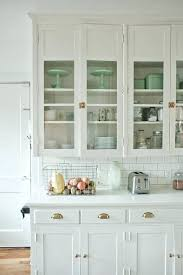 kitchens with glass cabinets gorgeous white kitchen with mint accessories glass kitchen cabinets ikea