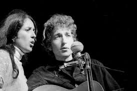 Image result for joan baez bob dylan