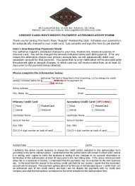 free credit card authorization form template 01