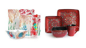 red black square dinnerware sets. square designed dinner sets ceramic · red black dinnerware e