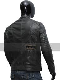 new style quilted moto slim fit 100 real lambskin black biker leather jacket