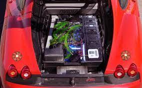 Ferrari 9590 extreme project part 1! Pc Inside A 2008 Ferrari 430 Scuderia Techpowerup Case Modding Gallery