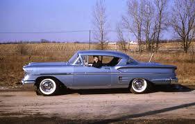 1958 Chevrolet Impala, Silver Blue. : OldSchoolCool