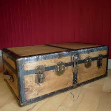 vintage trunk coffee table home design as well as brilliant vintage steamer trunk 20s 30s art