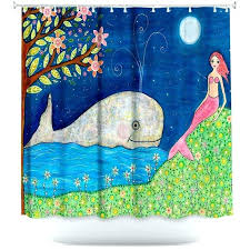 artistic shower curtains. Whale Shower Curtain Full Size Of Artistic Curtains By Mermaid Unique