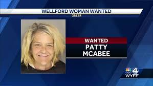 A wanted Wellford woman turned herself into police Monday ...