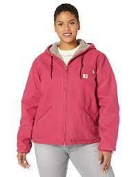 Carhartt Womens Sherpa Lined Sandstone Sierra Jacket