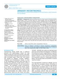 Mcps Grading Chart 2017 Pdf Urinary Incontinence Postoperative Evaluation In Women